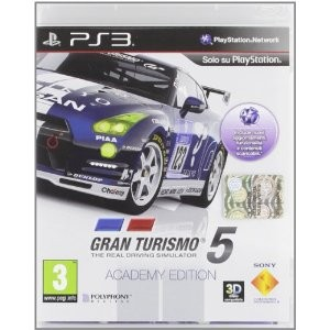 Gran Turismo 5 GT5 Academy (PS3)