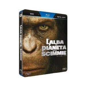 L' Alba Del Pianeta Delle Scimmie (Bluray+Dvd+Copia Digitale)