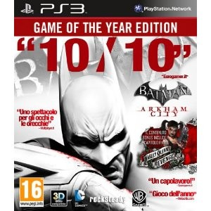 Batman: Arkham City Game Of The Year Edition (ps3)