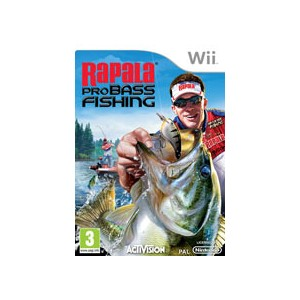 Rapala Pro Bass Fishing (usato) (Wii)