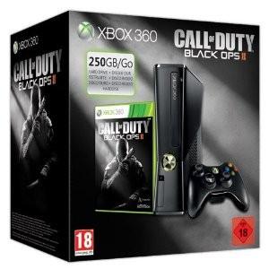 Xbox 360 Console 250 GB + Black ops 2 (Nera)