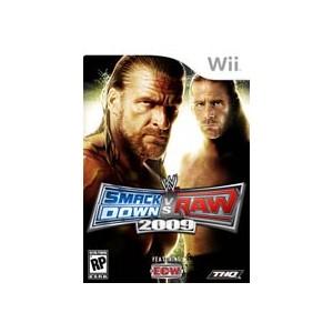 WWE Smackdown vs Raw 2009 (usato) (Wii)