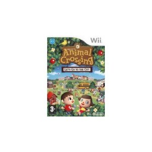 Animal Crossing: Let's Go To The City (usato) (Wii)