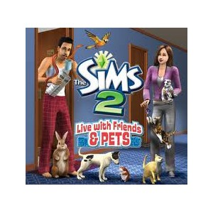 The sims 2 live with friends e pets (usato) (DS)