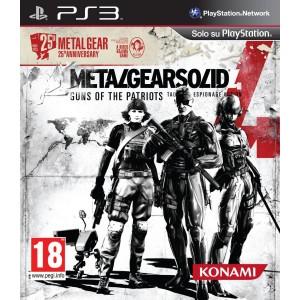 Metal Gear Solid 4 25° Anniversario (PS3)