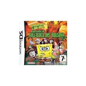 Spongebob Battaglia sull'Isola del Vulcano (usato) (DS)