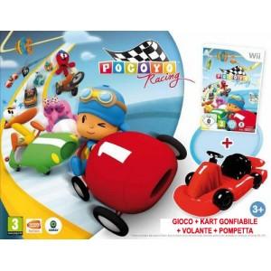 Pocoyo Racing + Go-Kart gonfiabile (wii)