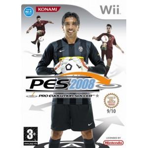 Pro Evolution Soccer 2008 (PES) (usato) (Wii)