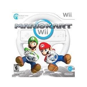 Mario kart + Volante (wii)