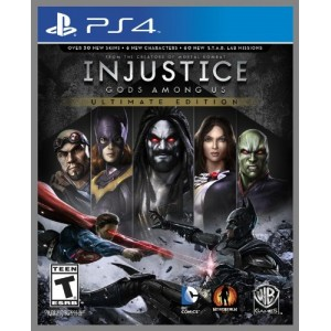 Injustice Gods Among Us Ultimate Edition (usato) (ps4)