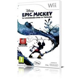 Epic Mickey La Leggendaria Sfida di Topolino (wii)