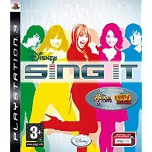 Disney Sing It + 2 microfoni (usato) (PS3)