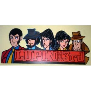 Personaggi Lupin III (sagomati in legno) (appendibile)