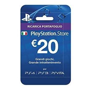 Playstation Network Card 20 euro (PSN)