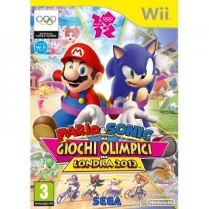 Mario & Sonic Giochi Olimpici Londra 2012 (usato) (Wii)