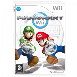 Mario Kart + volante (usato) (Wii)