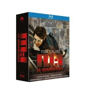 Mission Impossible (4 BluRay) (cofanetto)