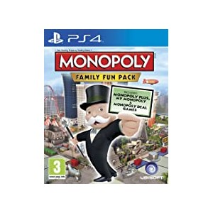 Monopoly: Family Fun Pack (USATO) (PS4)