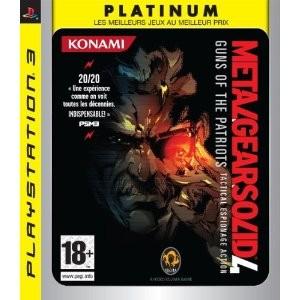 Metal Gear Solid 4 Guns of Patriots (ps3)