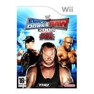 WWE Smackdown vs Raw 2008 (usato) (wii)