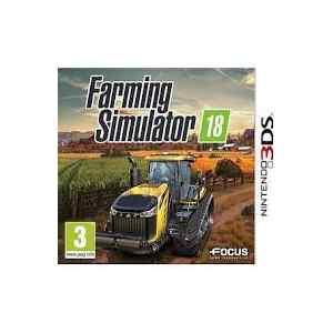 Farming Simulator 2018  (usato) (3DS)