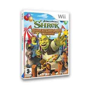 Shrek tutti al luna park (usato) (Wii)