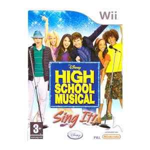 High School Musical Sing It (usato) (Wii)
