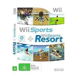 Wii sports + Wii sports Resort (usato) (Wii)