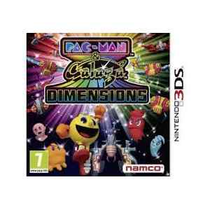 Pac-Man & Galaga Dimensions  (usato) (3DS)