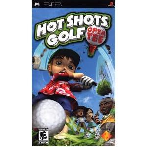 Hot shots golf open tee (usato) (psp)