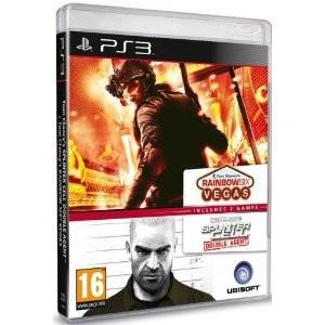 Splinter Cell: Double Agent + Rainbow Six Vegas (PS3)