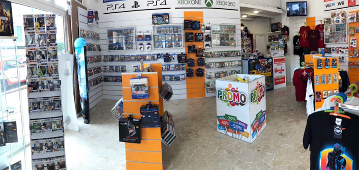 negozio gamemania