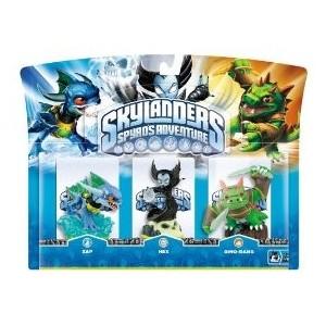 Skylanders Hex + Zap + Dinorang