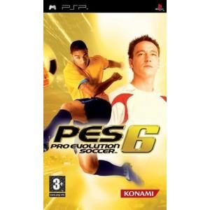 Pro Evolution Soccer 6 (PES) (usato) (psp)