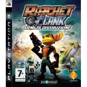 Ratchet & Clank armi di distruzione (usato) (ps3)