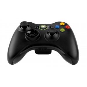 Controller Microsoft Xbox 360 wireless (NERO) (USATO)